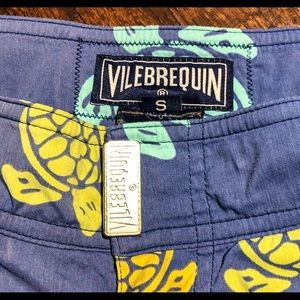Vilebrequin Swim - Vilebrequin Flat Belt Stretch Board Shorts